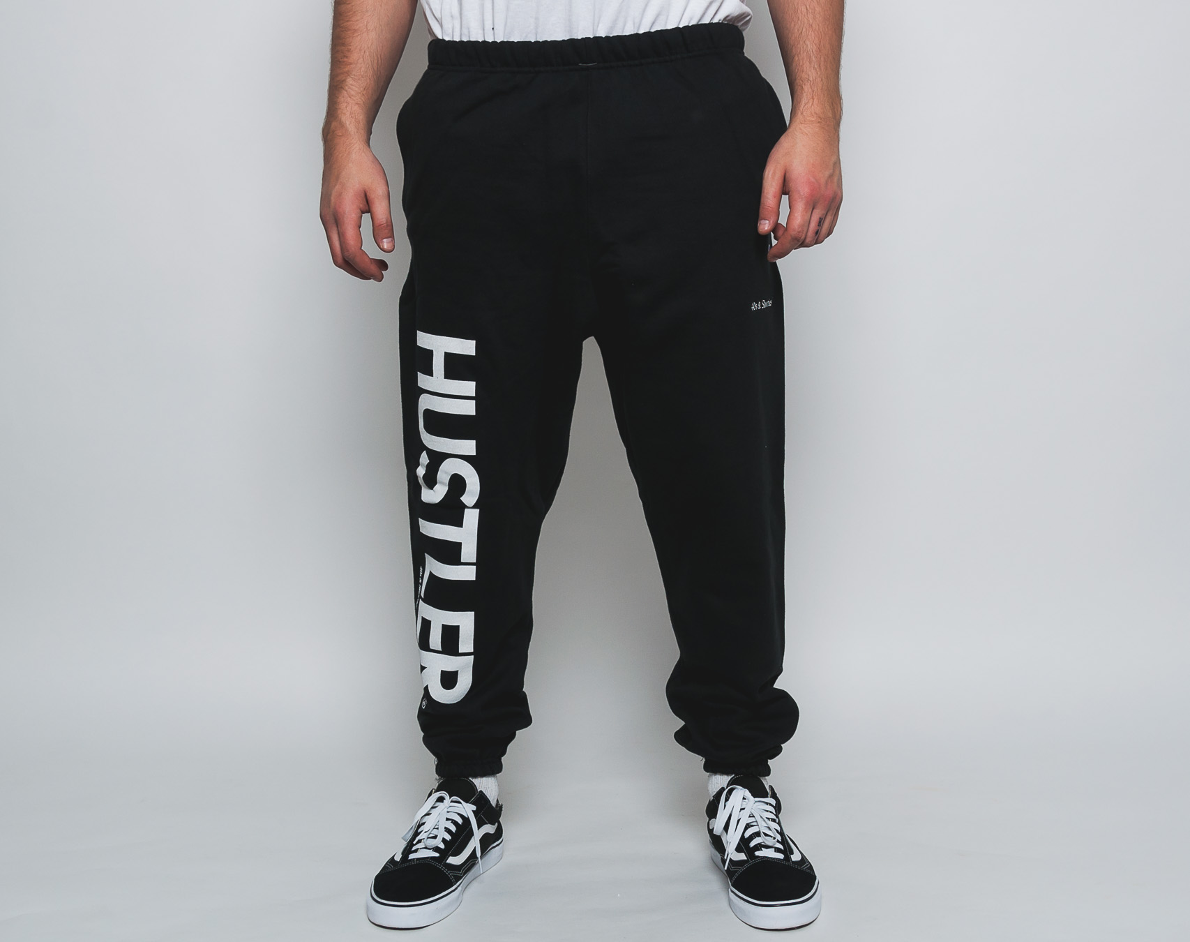 Tepláky 40s & Shorties Champion Reverse Weave Sweatpants Black