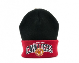 Kulich Mitchell & Ness Arched Cuff Knit Cleveland Cavaliers Black/Burgundy