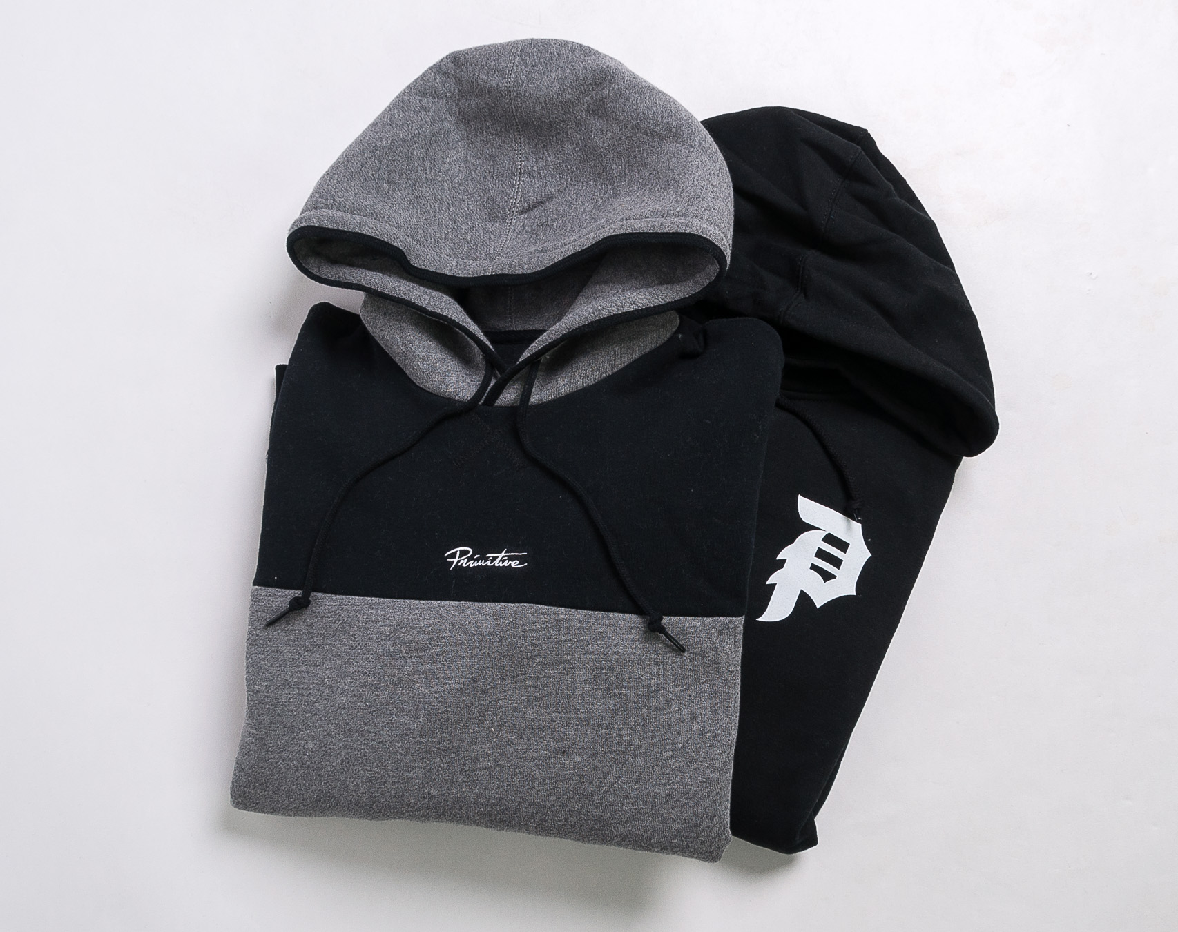Mikina Primitive Dirty P Hood Black