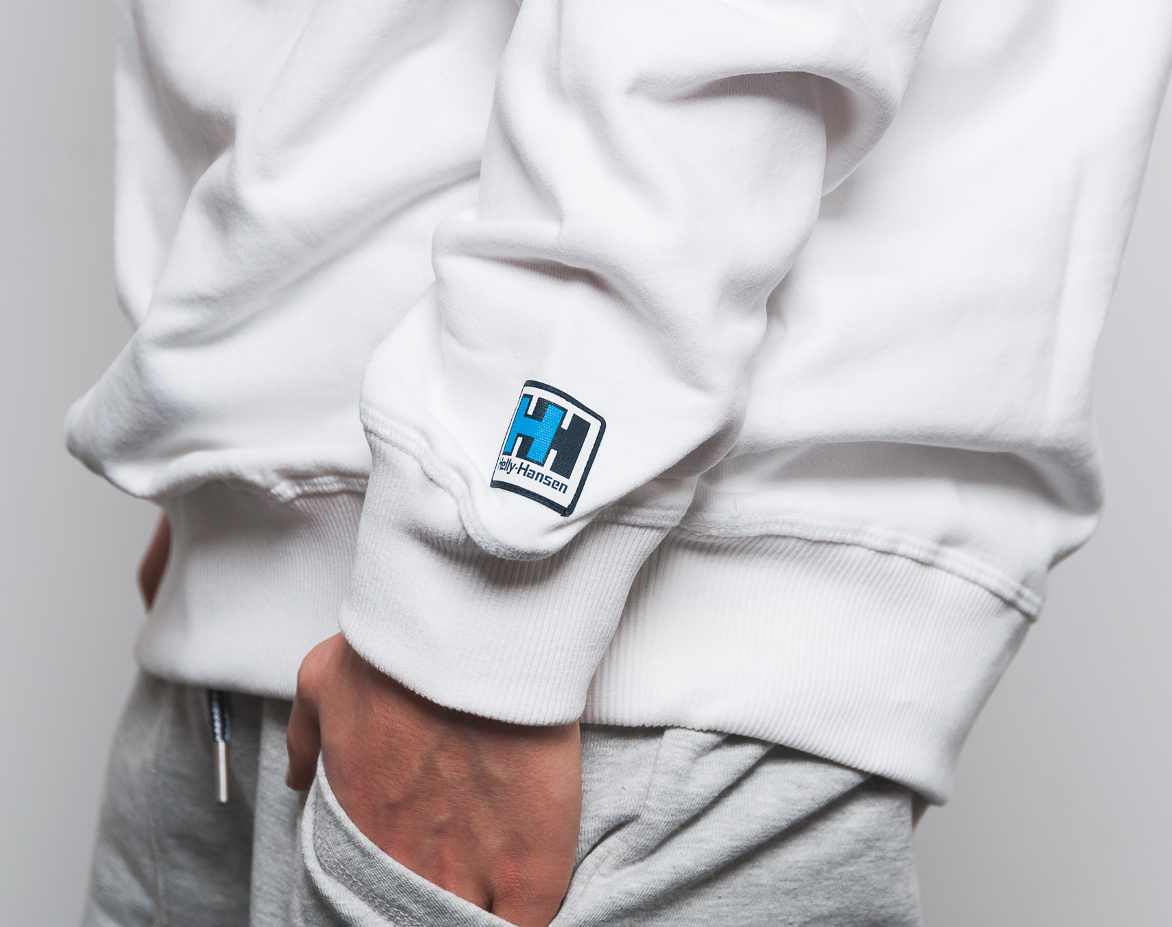 Mikina Helly Hansen Crew Sweat White 53155 001