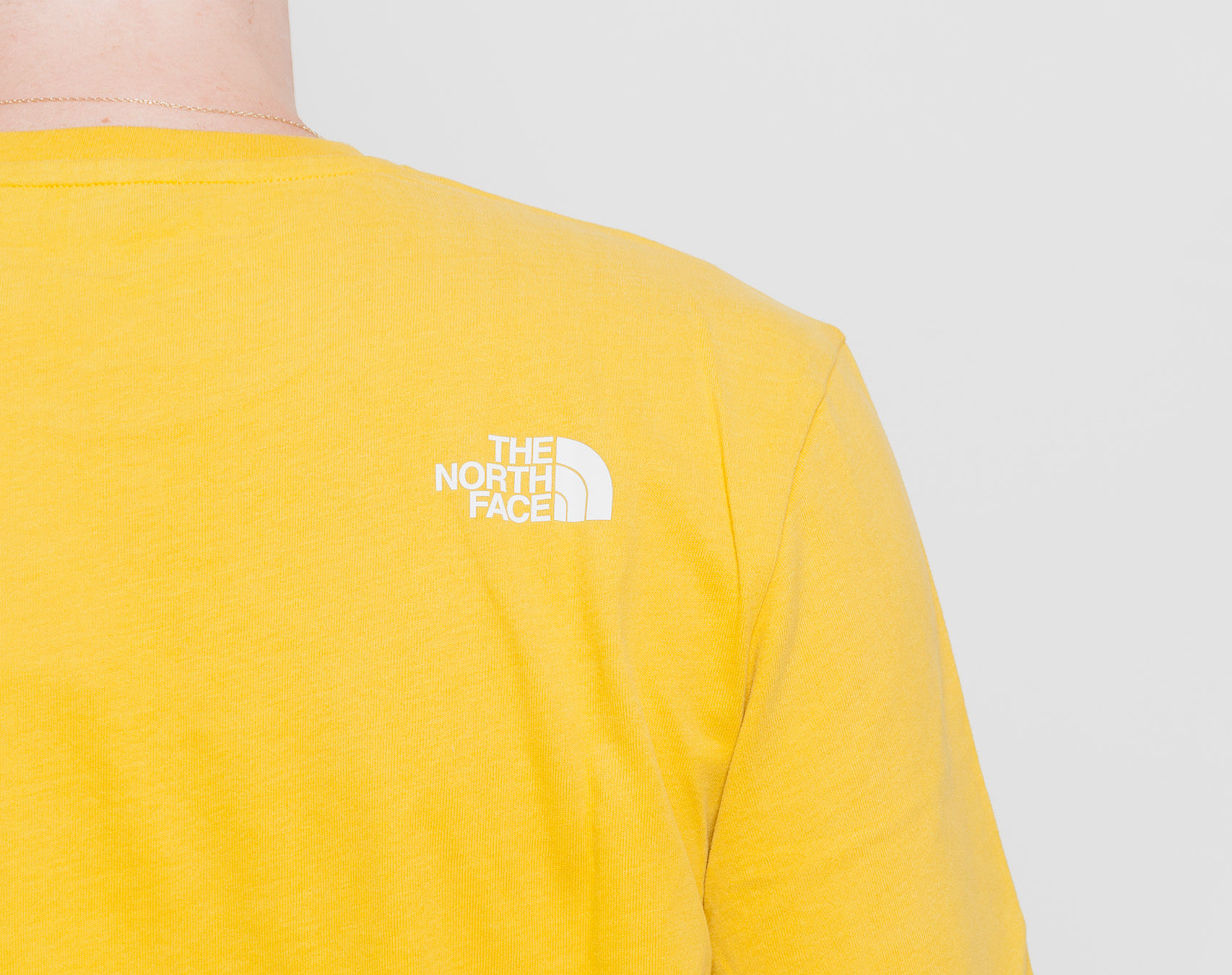 Triko The North Face Fine 2 Tee Leopard Yellow
