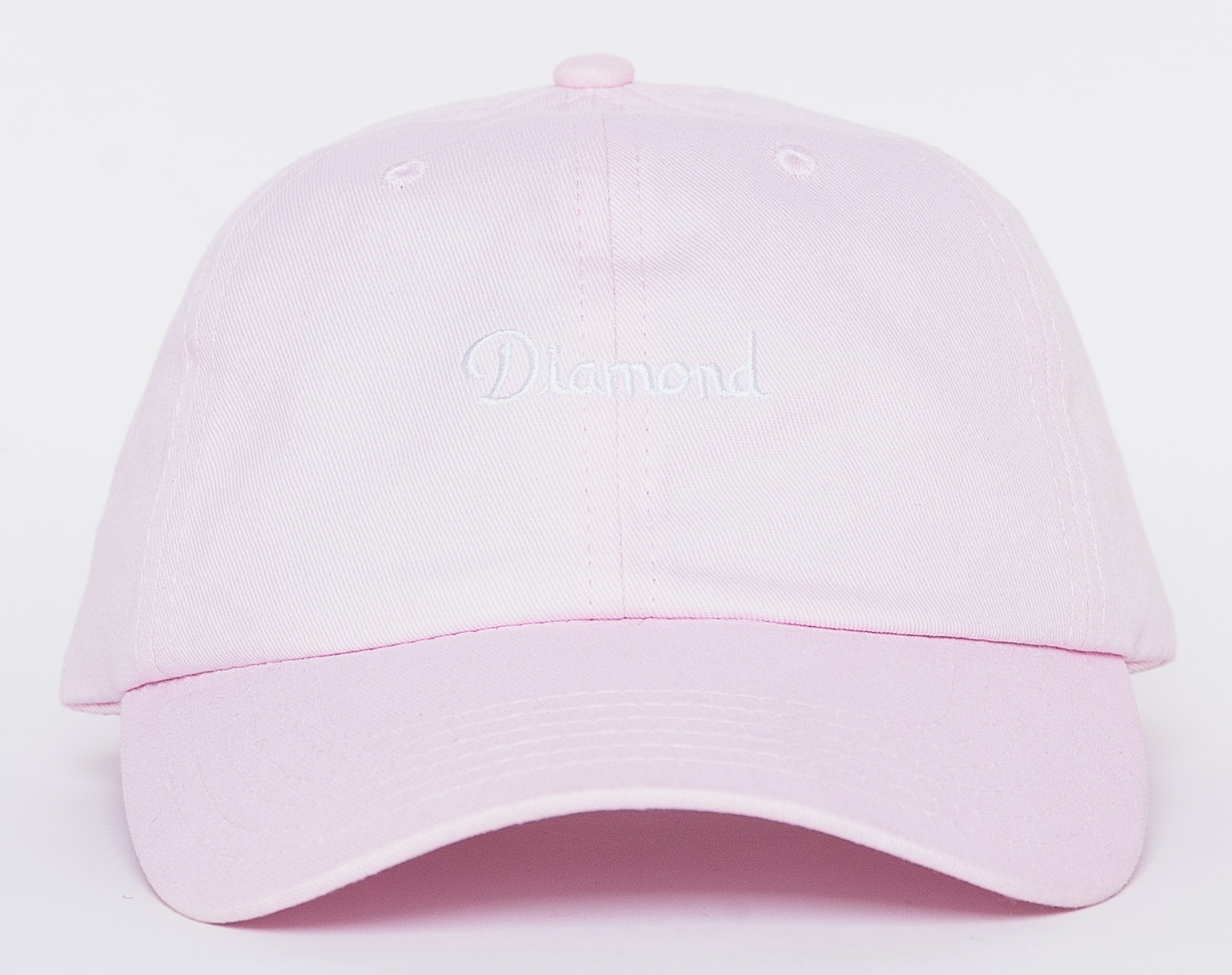 Kšiltovka Diamond Supply Co. Champagne Sports Pink Strapback