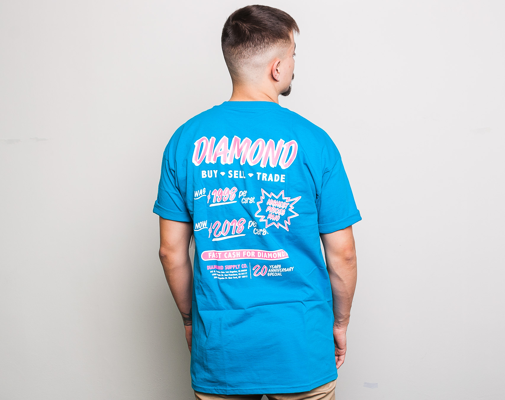 Triko Diamond Supply Co. Ca$h For Diamond Turquoise