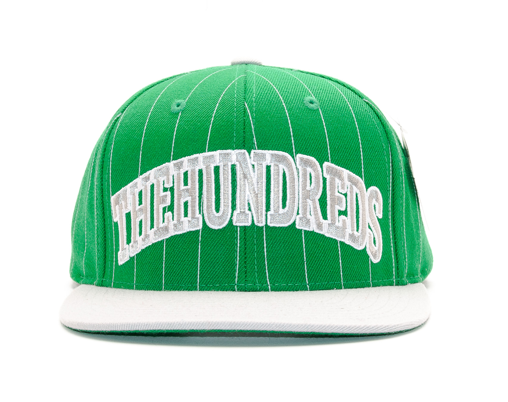 Kšiltovka The Hundreds Pins Green/Gray Snapback