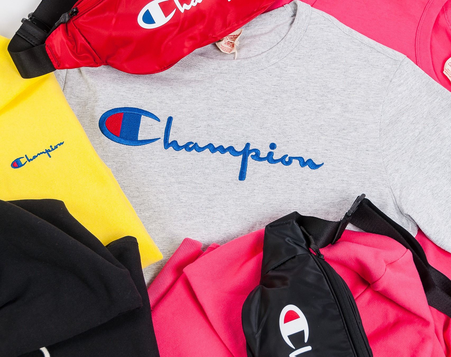 Triko Champion 210971 Crewneck T-Shirt PS061 AZA Pink