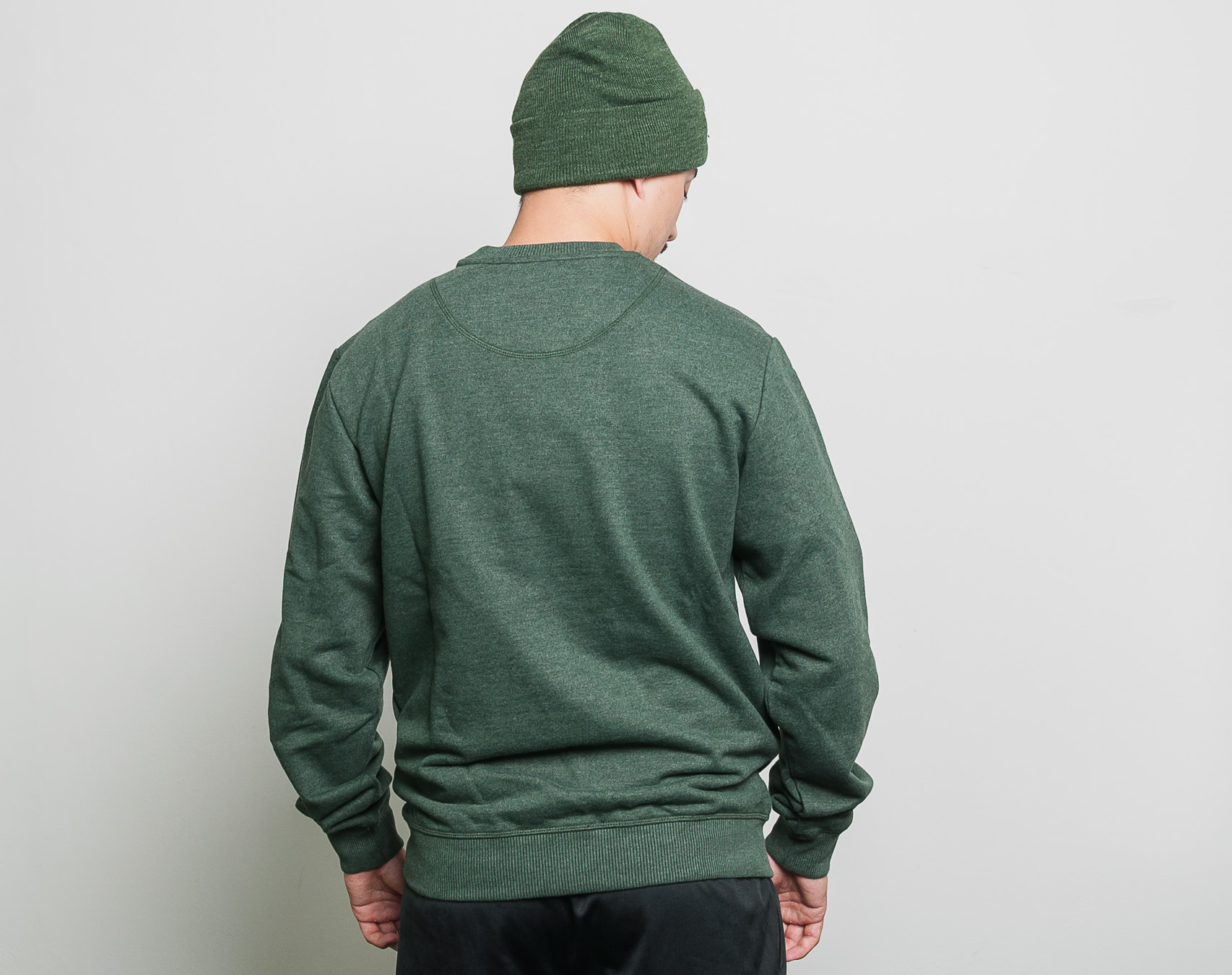 Mikina Helly Hansen Crew Sweat Mountain Green Melange 53155 454