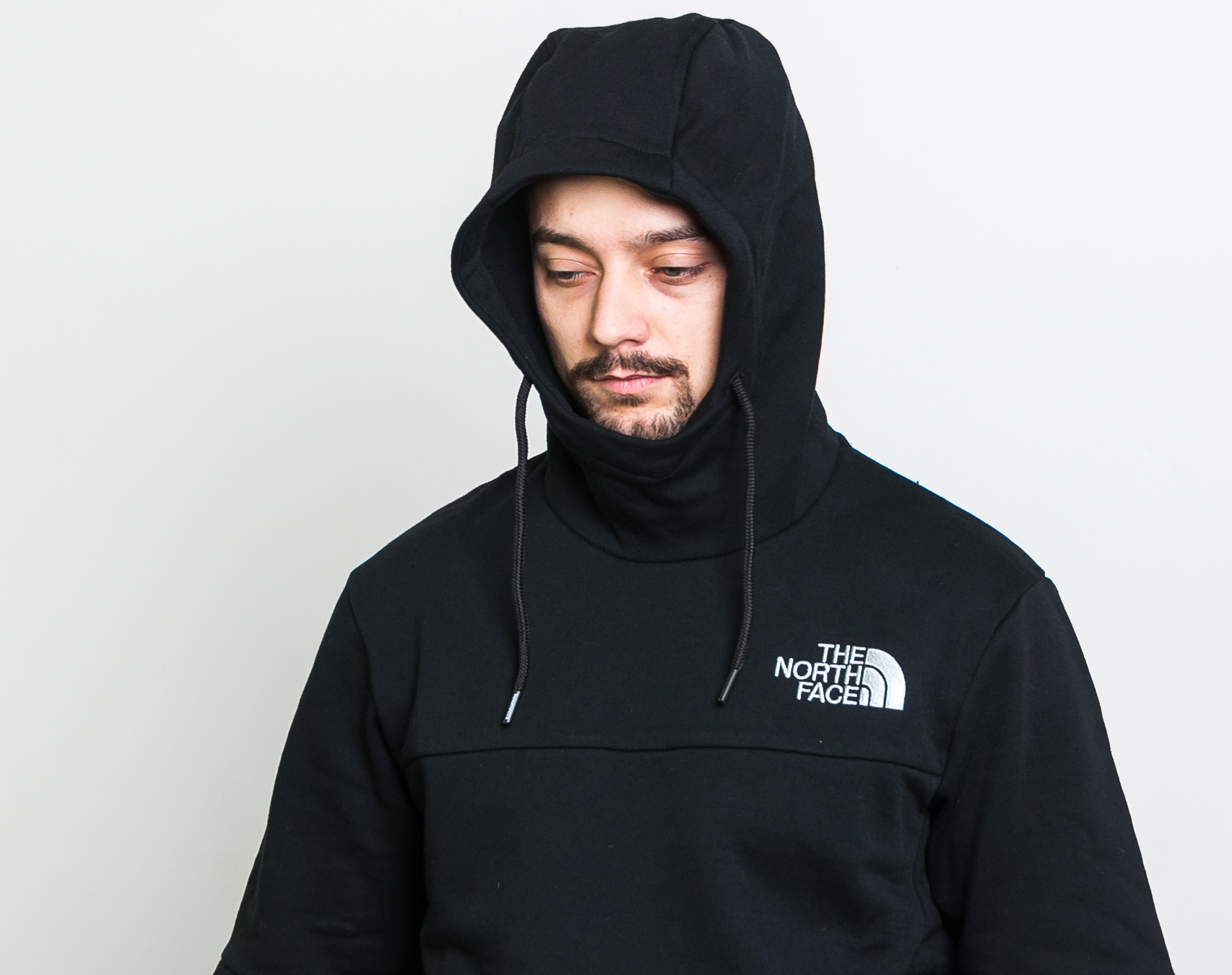 Mikina The North Face Himalayan Hoodie Black