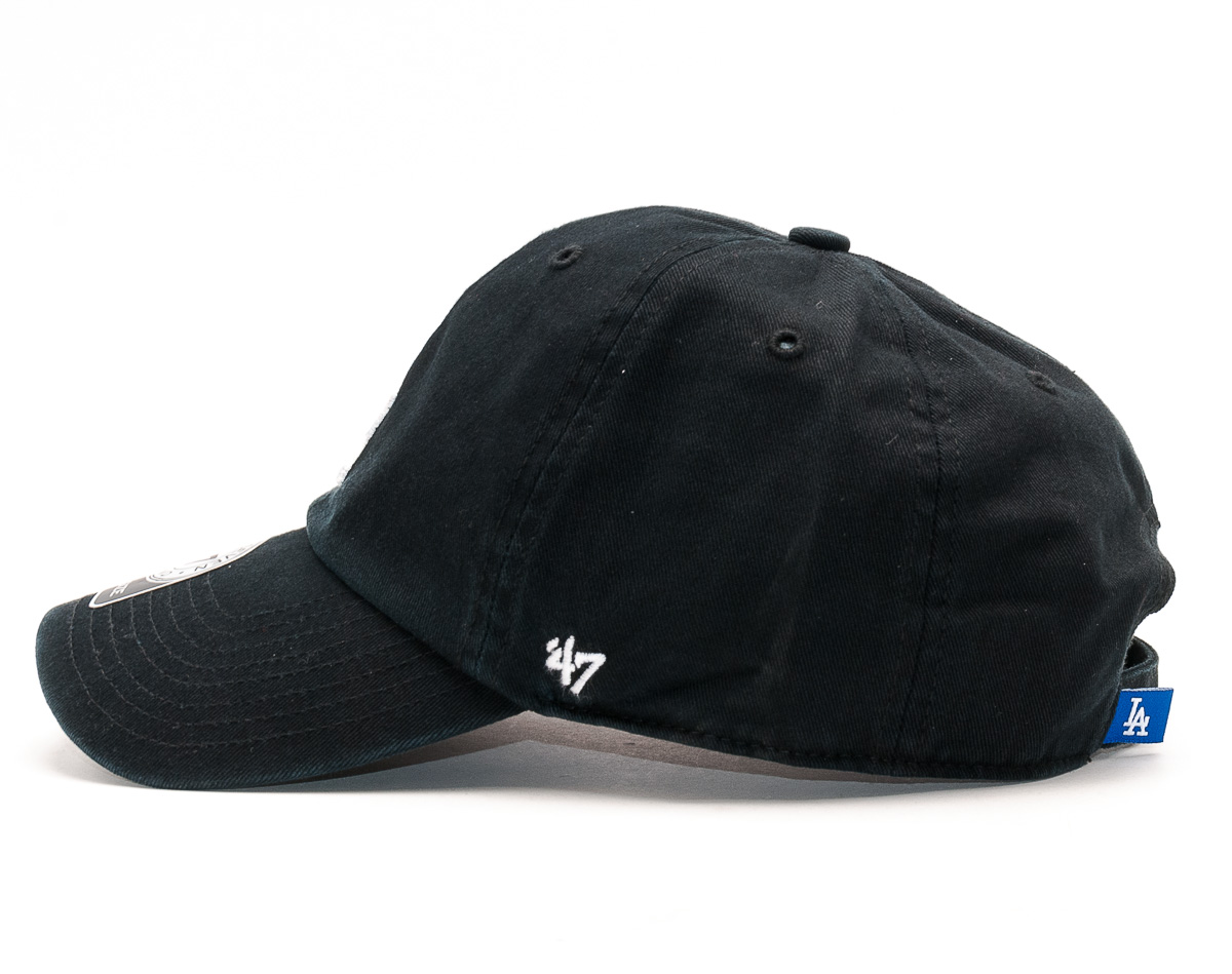 Kšiltovka 47 Brand Los Angeles Dodgers Clean Up Black Strapback